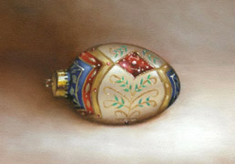 Filigree Ornament, Oil on Panel, 2007.