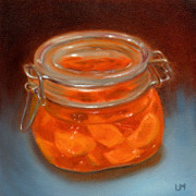 Mandarin Candle, Oil on Panel, 2012.