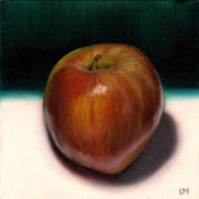 Apple, Oil on Panel, 2012.